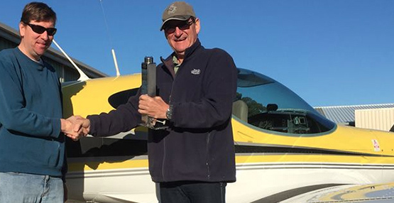 Mark and Scott bring the CAGIT to Moruya Airport, the home of Merit Aviation